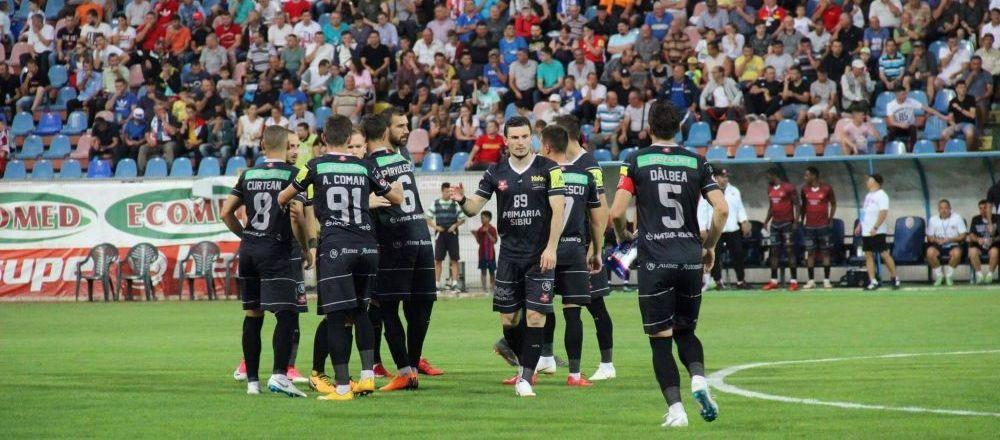 HERMANNSTADT 1-1 CALARASI | Dobrosavlevici inscrie in prelungiri pentru Calarasi. Blanaru a dat gol cu CALCAIUL