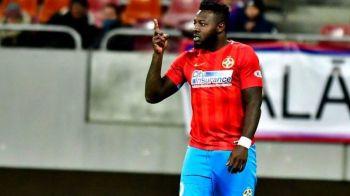 FCSB 4-0 POLI IASI | Ce ai facut cu kilogramul in plus? :) Raspunsul lui Gnohere dupa ce a marcat doua goluri cu Iasi