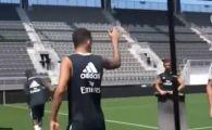 """""""Ronaldo? Cine?"""" :) """"Galacticii"""" au un nou star: faza IMPOSIBILA reusita la ultimul antrenament! """"Incerci de 1 MILION DE ORI si nu reusesti!"""""""