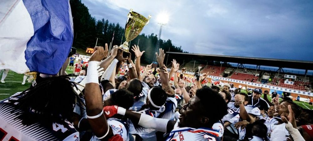 Franta este noua campioana europeana la fotbal american