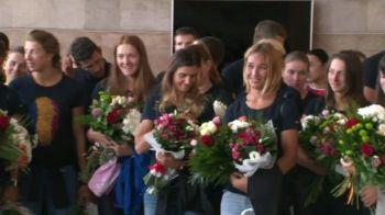 Romanii de aur revin in acasa! LIVE | Primele reactii