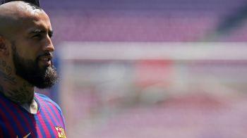 """Vidal i-a surprins pe fanii Barcei la prezentarea oficiala: """"Nu sunt anti-Madrid!"""" Clauza uriasa: cat Man si Morutan impreuna :)"""