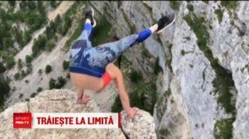O gimnasta din Austria era sa-i bage in spital pe fanii ei! Lumea a inghetat cand a vazut-o!