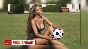 Francezii n-au venit doar cu trofeul mondial de la Moscova! Au adus-o cu ei pe cea mai sexy rusoaica