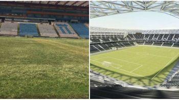ADIO GHENCEA   Cum arata legendarul stadion al Stelei inainte de DEMOLARE! Incep lucrarile. FOTO&VIDEO