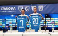 Craiova si-a prezentat ultimele transferuri! Meza Colli si Fedele, intaririle oltenilor pentru lupta de titlu