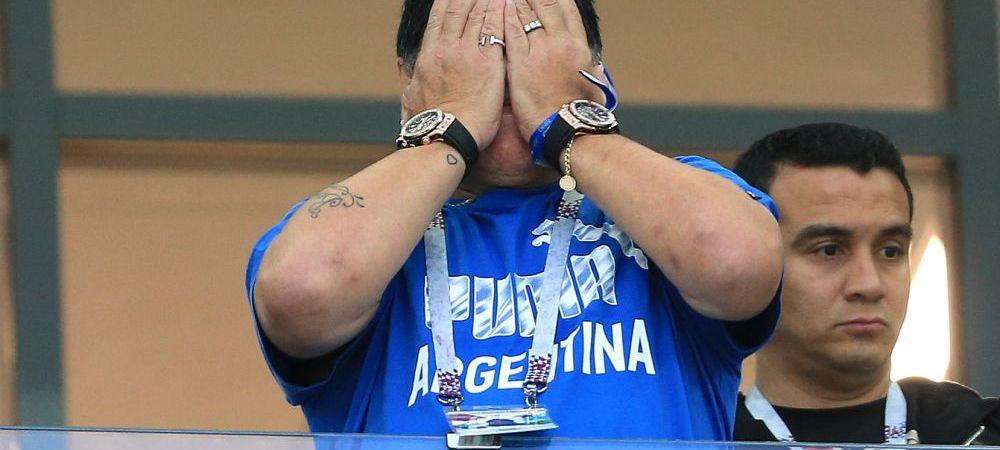 """O noua izbucnire a lui Maradona! S-a suparat pe argentinieni: """"Imi dau viata pentru echipa nationala, dar ei au uitat de mine!"""""""