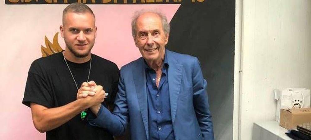 OFICIAL | Puscas a semnat cu Palermo tarziu in noapte! DETALII din contract: clauza pusa de Inter si suma de transfer
