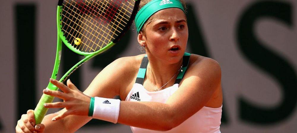 Un nou gest SCANDALOS facut de Ostapenko! Ce scandal a provocat la Rogers Cup