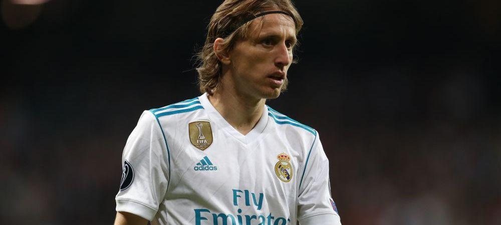 DECIZIA FINALA a celor de la Real in cazul lui Modric! SURPRIZA pregatita de spanioli pentru croat