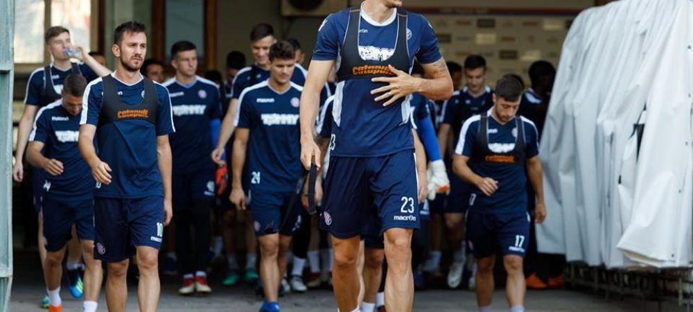 HAJDUK - FCSB, JOI PRO TV | Croatii isi joaca tot sezonul in dubla cu FCSB: prime URIASE promise jucatorilor lui Hajduk daca elimina echipa lui Dica!