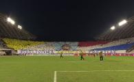 HAJDUK - FCSB | Fanii lui Hajduk Split au surprins pe toata lumea! Ce a insemnat coregrafia prezentata inainte de meci