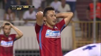 """HAJDUK - FCSB 0-0  Moment incredibil cu Gigi Becali! L-a criticat pe Morutan, apoi si-a schimbat parerea IN DIRECT: """"Asa trebuia sa faca!"""""""