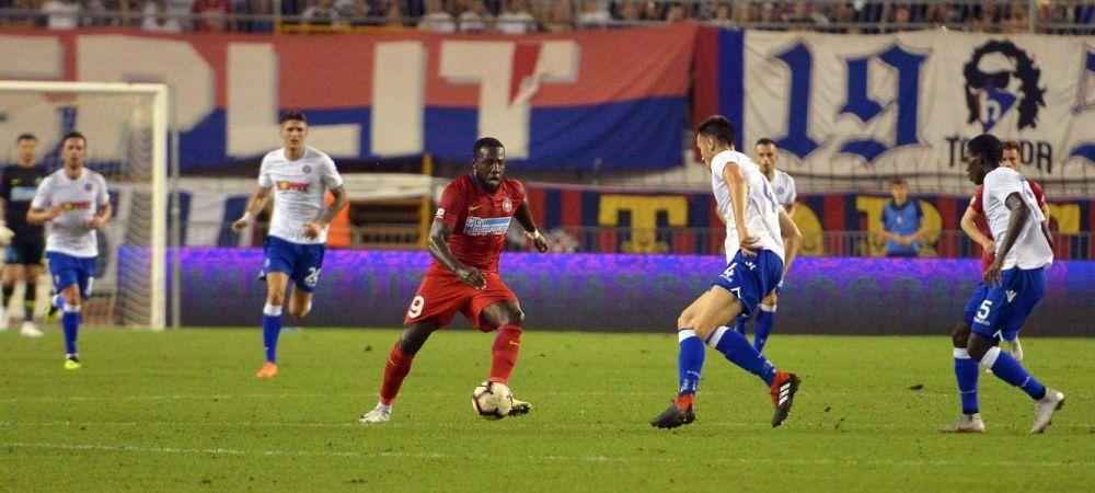 HAJDUK - FCSB 0-0 | Gnohere, raspuns surprinzator cand a fost intrebat de venirea lui Rusescu la FCSB! De ce nu se teme