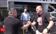 Arnold si Stallone s-au intalnit azi intr-un bar din Romania :) Doroftei l-a primit pe Morosanu in barul transformat in muzeu