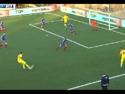 Campionatul european de minifotbal se vede la PRO X! Romania 4-2 Anglia.