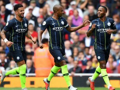 Arsenal 0-2 Manchester City! Sterling si Bernardo Silva i-au stricat debutul lui Unay Emeri // Liverpool a facut show: 4-0 cu West Ham