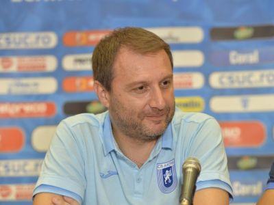 """Craiova respira, Mangia mai cere transferuri: """"Sunt multumit de ce am adus pana acum, dar avem nevoie de intariri"""""""