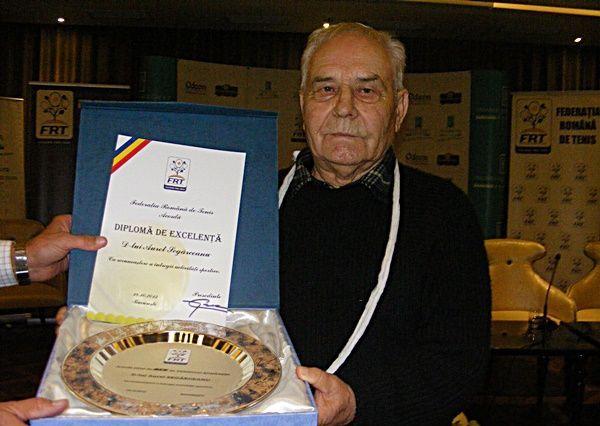 A murit Aurelian Segarceanu! Fostul antrenor de tenis avea 84 de ani