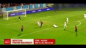 Hajduk, 1-1 in campionat inainte de meciul cu FCSB // PRO TV transmite joi FCSB - Hajduk, 21:30