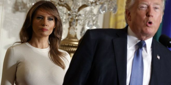 Fost angajat la Casa Albă: cum folosește Melania modul în care se îmbracă pentru a-l pedepsi pe Trump