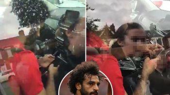 Liverpool l-a DENUNTAT pe Salah la politie dupa ce a fost surprins ca folosea telefonul mobil la volan. VIDEO