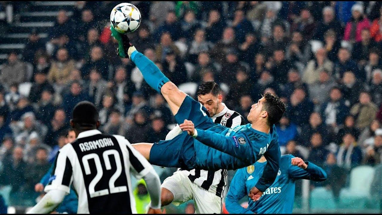 Foarfeca lui Ronaldo cu Juventus, nominalizata la golul anului!