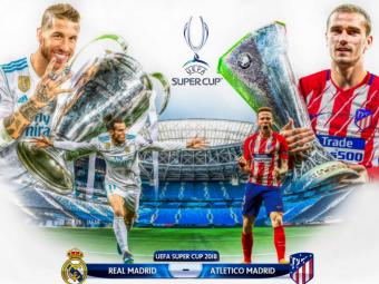 REAL - ATLETICO LIVE, SUPERCUPA EUROPEI | Incepe era post-Ronaldo la Real, Atletico a redevenit un colos! Echipele probabile
