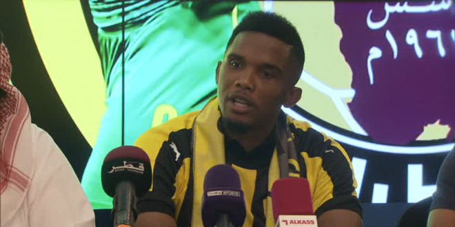 Samuel Eto o a fost prezentat la noua sa echipa:  Este momentul perfect!  Cu cine a semnat