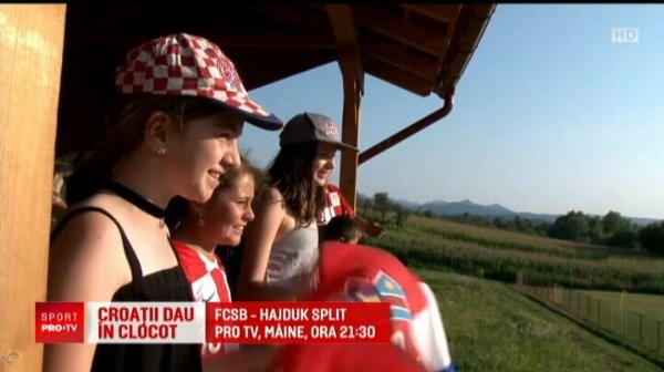 HAJDUK - FCSB, JOI LA PROTV | Dau in... Clocotici :) Hajduk are fani si in Romania: croatii vin pe National Arena pentru meciul cu FCSB