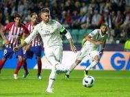 VIDEO FABULOS | Imaginile verii in Europa! Cum s-a bucurat Sergio Ramos dupa ce a marcat din penalty cu Atletico: l-a imitat pe McGregor