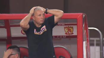 Petrescu a INNEBUNIT pe margine! Ce a patit echipa lui la ultimul meci din China