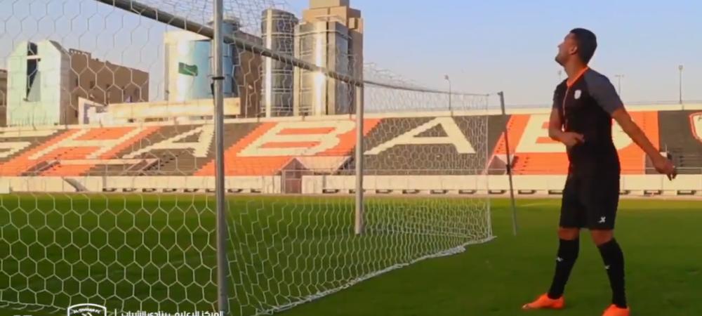 FABULOS! Budescu a mai facut o nebunie la arabi: a dat gol din spatele plasei! VIDEO