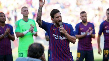 Messi, la primul discurs ca si capitan al Barcelonei: ce a promis liderul catalanilor pentu acest sezon!