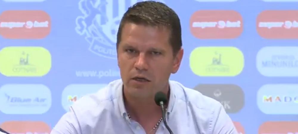 """Stoican si-a iesit din minti: """"Nu sunt informat despre ce jucatori vin la echipa, am ajuns sa citesc pe Facebook despre transferurile de la Poli Iasi"""""""