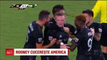 Rooney loveste din nou si face spectacol in America! A dat golul saptamanii | VIDEO