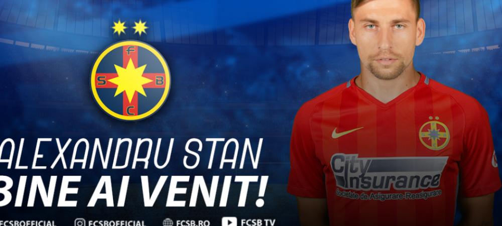 "Surpriza TOTALA! Stan, luat din PAT si adus la FCSB: ""Ma pregateam de cantonament cu Astra!"" :))"
