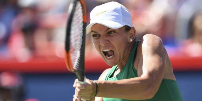 SIMONA HALEP - LESIA TSURENKO 6-4 6-1 | Simona e in semifinale la Cincinnati! Serie incredibila de 10 game-uri la rand pentru romanca!