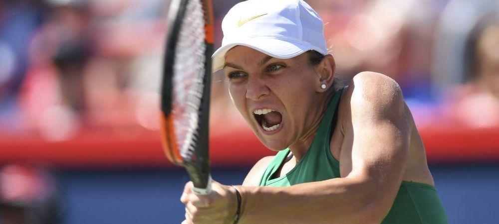 SIMONA HALEP - LESIA TSURENKO 6-4 6-1|Simona e in semifinale la Cincinnati! Serie incredibila de 10 game-uri la rand pentru romanca!