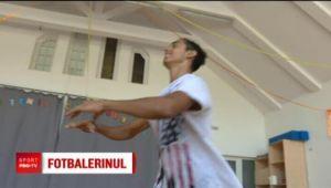 Povestea tanarului care aduce gratia de la balet pe terenul de fotbal! Il cheama Nicusor Stanciu, dar seamana cu Ronaldinho | VIDEO