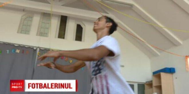 Povestea tanarului care aduce gratia de la balet pe terenul de fotbal! Il cheama Nicusor Stanciu, dar seamana cu Ronaldinho   VIDEO