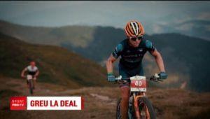Ciclisti din 25 de tari au dat de greu in muntii nostri! Cel mai dificil concurs de mountain bike e in Romania   VIDEO