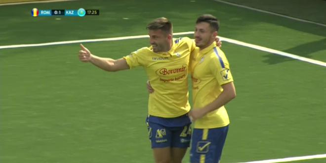 Romania, infrangere DUREROASA cu Cehia in finala Euro de Minifotbal! 1-4 cu Cehia. AICI VIDEO