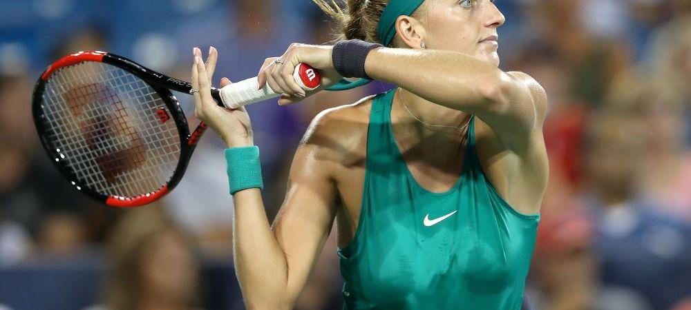 HALEP CINCINNATI | Kvitova - Bertens, in a doua semifinala! Simona va lupta pentru trofeu cu invingatoarea, daca trece de Sabalenka!