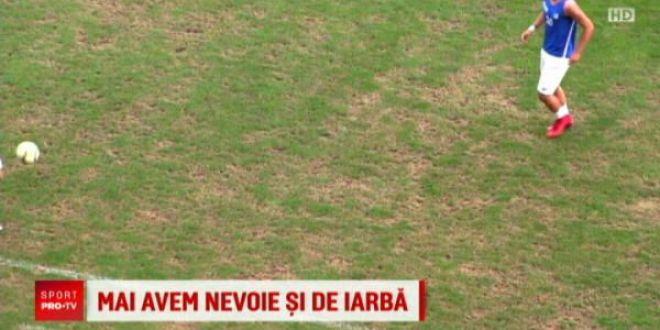 Ciuperca se INTOARCE! :) Probleme cu gazonul de la Ploiesti inaintea debutului nationalei in Nations League