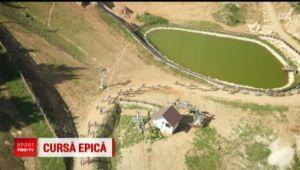 Conditii EXTREME in muntii Romaniei! Ciclistii au trecut pe langa transee din Al Doilea Razboi Mondial