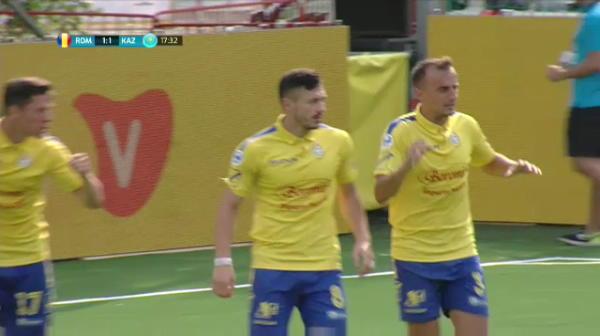 Reusita FANTASTICA a Romaniei in semifinalele Campionatului European de Minifotbal!