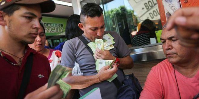 Tara in care pentru a cumpara un pui ai nevoie de un  munte  de bancnote. Noua spaima a populatiei