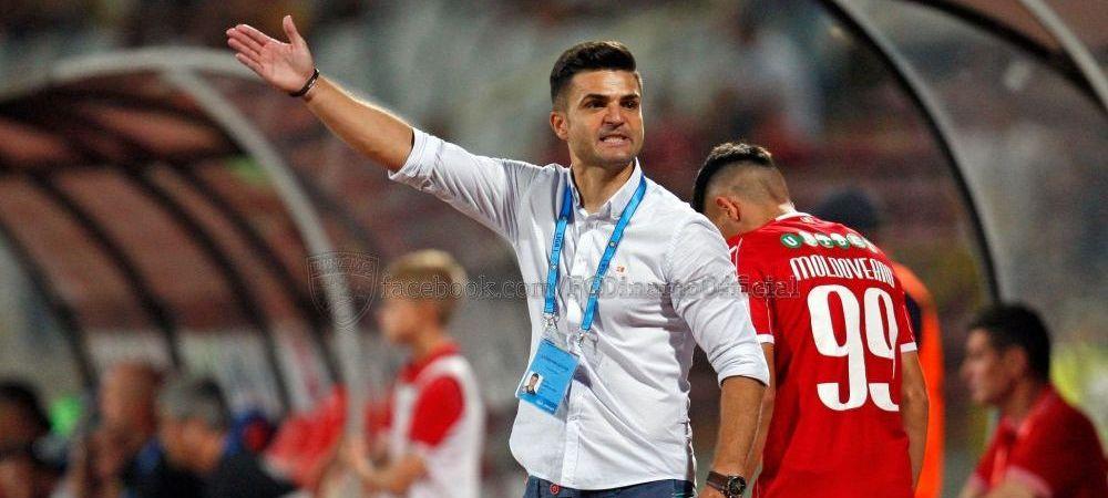 """CFR Cluj 3-1 Dinamo   """"Ne-am batut, am avut spirit. Sunt bucuros de joc!"""" Explicatiile lui Bratu dupa 1-3 cu CFR"""