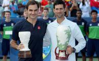 Djokovic, campion la Cincinnati! L-a batut pe Federer si a devenit primul din istorie care castiga toate trofeele de Masters